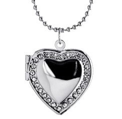 Locket Necklace or Keyring
