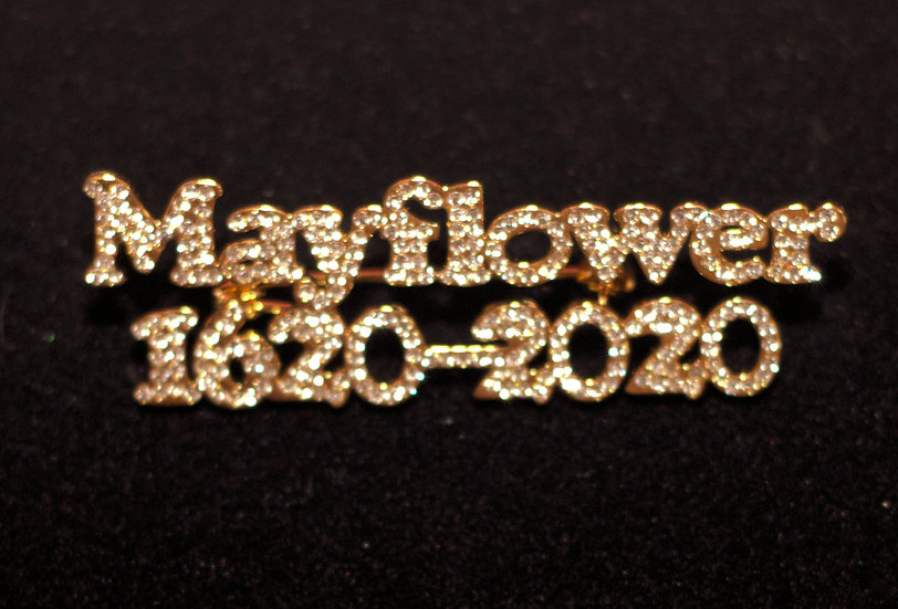 Mayflower 400 Year Anniversary Broach Limited Edition