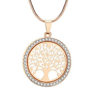 Austrian Crystal Pendant Necklace