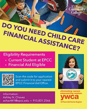 Child care help available for EPCC students