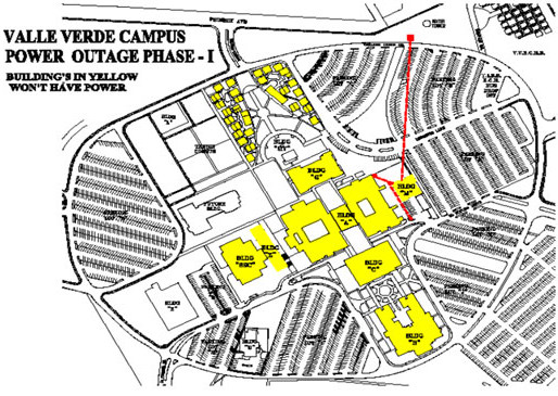 Valle Verde campus to shut down this week for electrical upgrade