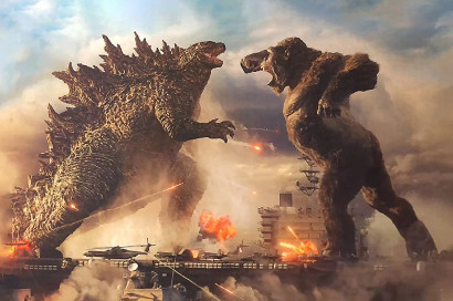 What Godzilla and Kong lack in a plot, they make up with great fight scenes