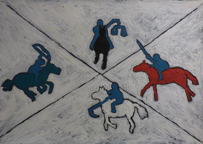 Four Riders of Apocolypse