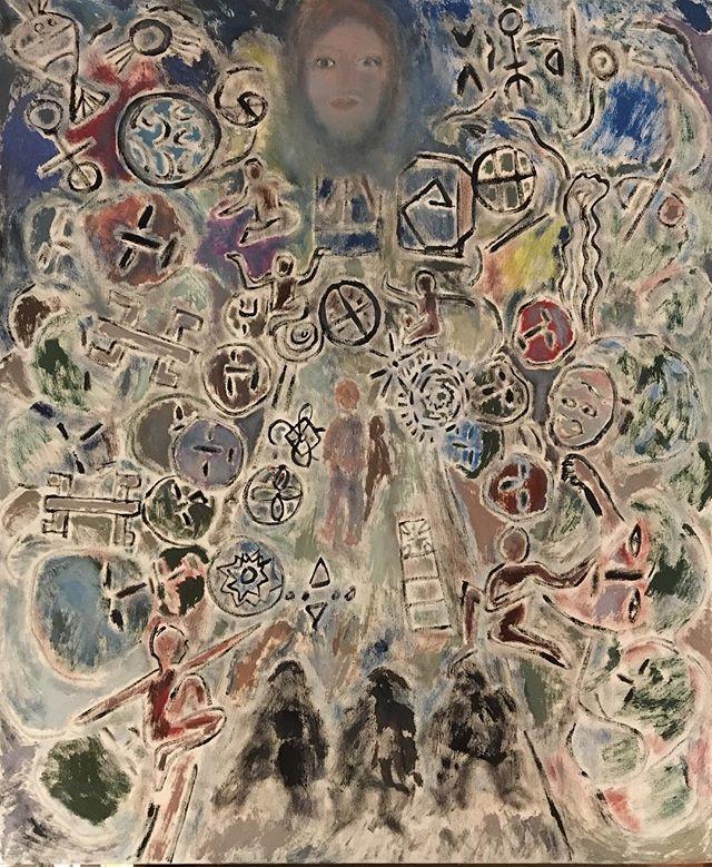 'Childhood dream' 64x76cm oil