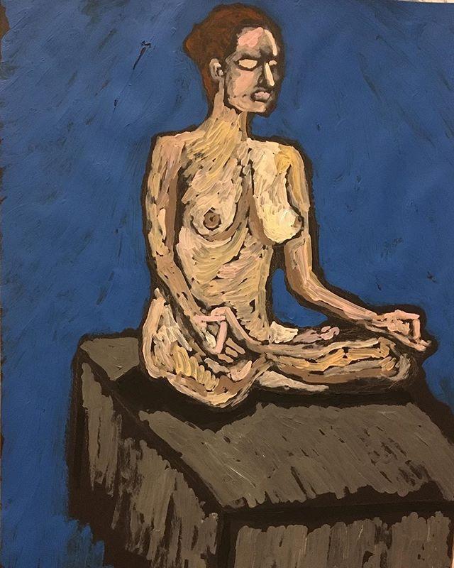 'Pneumatic' Life drawing 59x84cm
