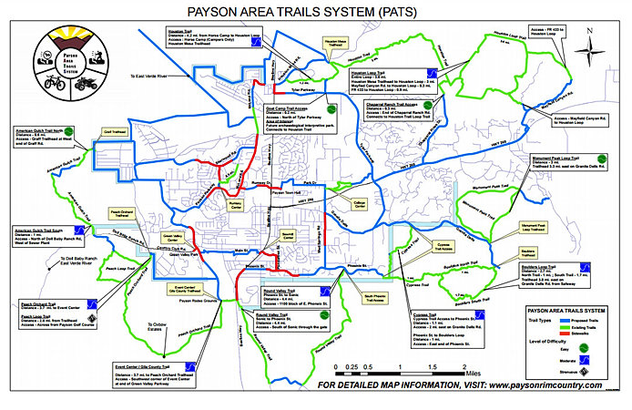 Town of payson area trails system other publicscrutiny Images