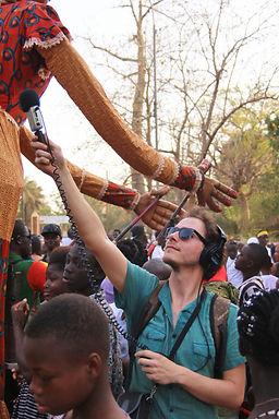Les portraits sonores d'Antoine Berland, Burkina Faso, janvier 2016