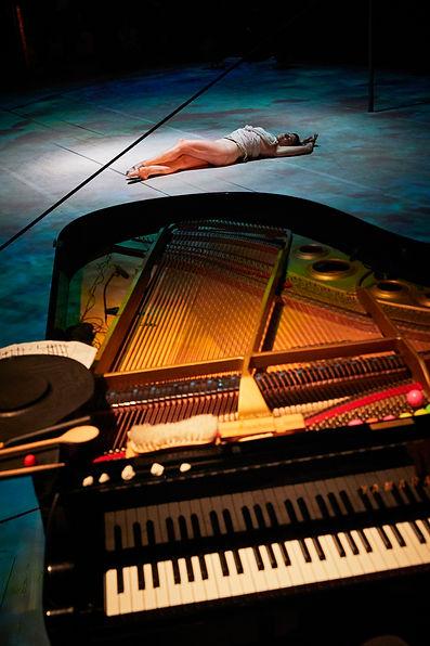 Orianne & piano (photo de Christophe Ray