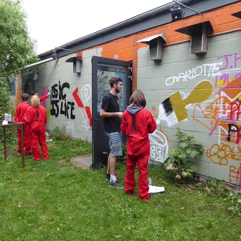 Prutscafé graffiti workshop