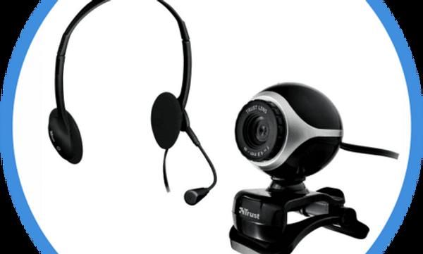 Instalação de Webcam e Fone de Ouvido