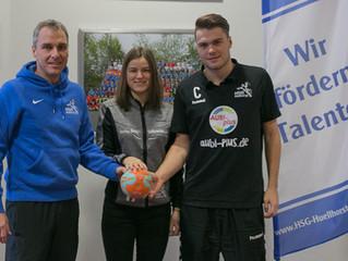 """Fortsetzung des Projekts """"Handball für Kids"""" der HSG Hüllhort in den Grundschulen"""