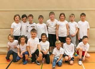 Oberbauerschaft 3a gewinnt beim 14. Grundschulspielfest  der HSG Hüllhorst