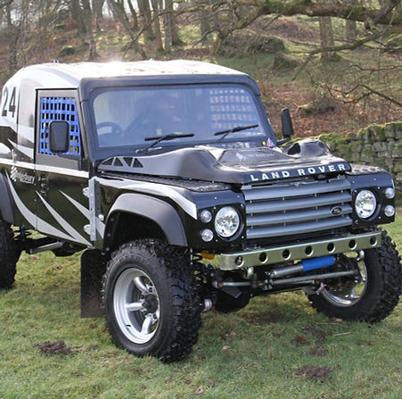 Land Rover Modifiations