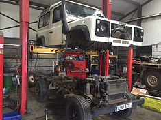 Land Rover chassis replacement