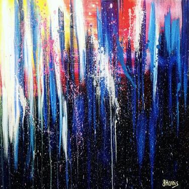 "24""x24"" oil on canvas"