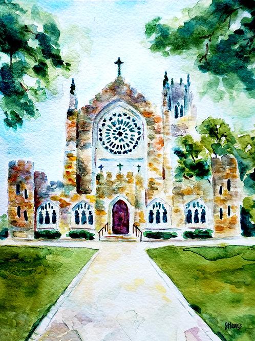 Spring at All Saints' Chapel