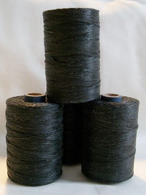 Black Waxed Thread