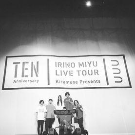 入野自由 LIVE TOUR TEN ライブサポート