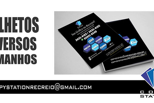 Panfletos, Folder, Flyers. A partir de