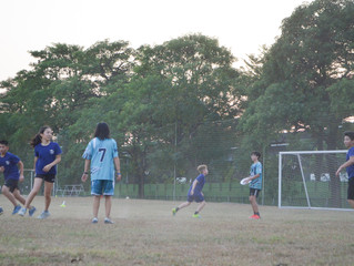 10/29 Ultimate Frisbee Game vs AST