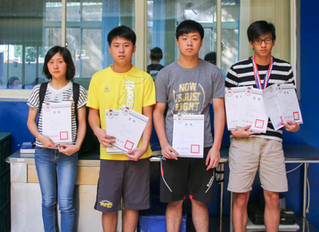 2018 Hsinchu City Athletic Competition Awards