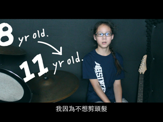 G6 Student Donated 55cm of Hair to Children with Cancer