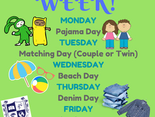 2nd Semester Spirit Week
