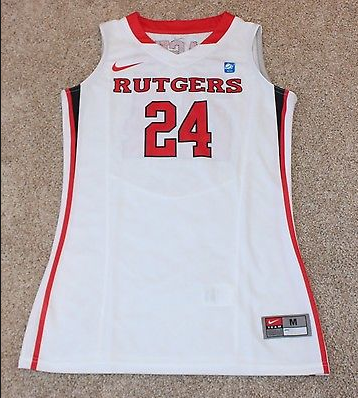 cc0e7bdf88b1 Now show off your enthusiasm when you get this  24 Rutgers Scarlet Knights  Authentic Basketball jersey ...