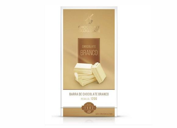 BARRA DE CHOCOLATE BRANCO 120G