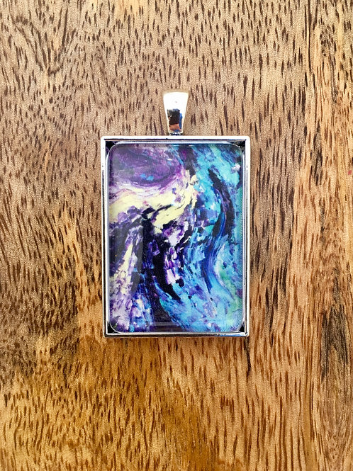 Silhouettes in Grief Pendant