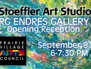 RG Endres Gallery Exhibit, September 2017