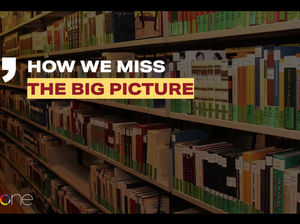 How We Miss the Big Picture