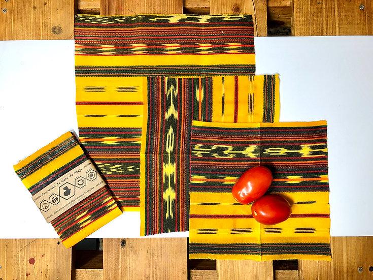 Mayan Beeswax Wrap - Envoltorio Reusable para Tu Cocina, No Más Plástico
