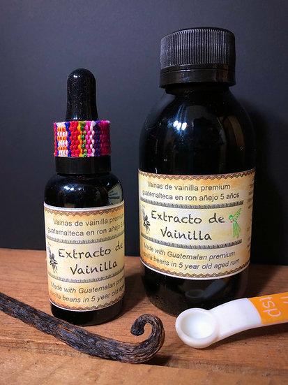 Extracto de Vainilla Premium Guatemalteca 30ml / 120ml