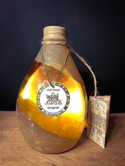 Hidromiel Ah-Muzen-Cab 500ml, Vino de Miel Dulce con Alc. 12%