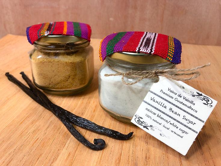 Azúcar/Panela/Miel Aromatizada con Vainilla Premium Guatemalteca - 6oz