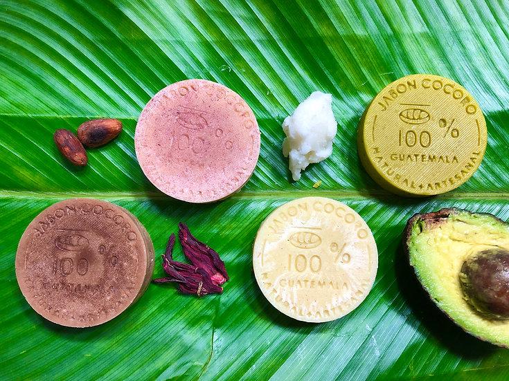 Acondicionador en Barra Extra Virgen 40g - Coco/Chocolate/Guacamole/Lavanda