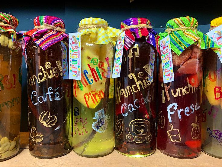 ¡Punchis! Guatemalan Premium Vanilla Honey Rum Punch - Alc 25%, 475ml