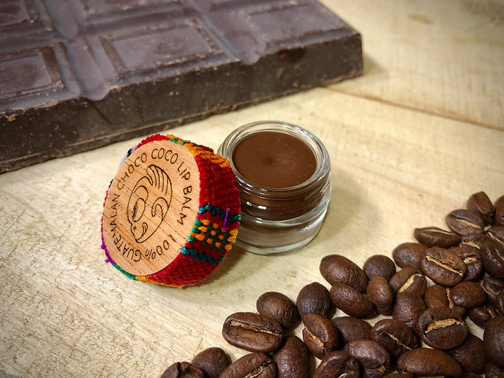 Bálsamo Labial CHOCO COCO - Café Arábica