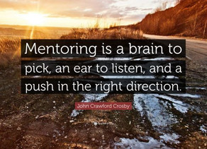 Who are your mentors?