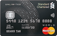 (Update: Offer has ended !) Receive S$100 Cashback from Standard Chartered Credit Card
