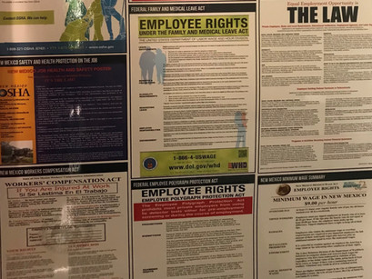 Which Labor Law Posters are Required?
