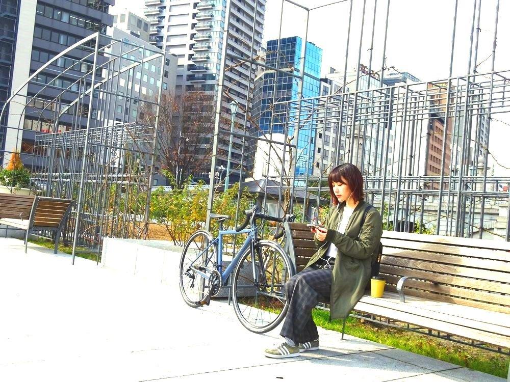 Urban ride with NAOMI