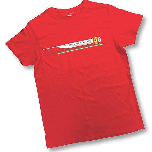 Scuderia Ferrari Club Family Tea Shirt (Members Only)
