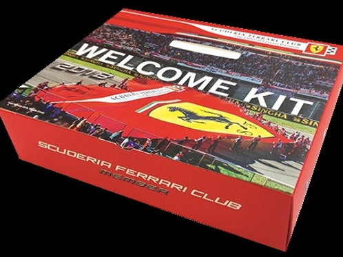 Scuderia Ferrari Club Membership Kit