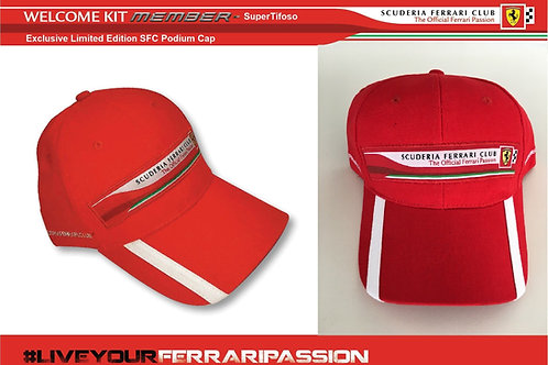 Scuderia Ferrari Club Podium Cap (Members Only)