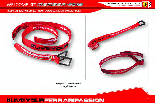 Scuderia Ferrari Club Racing Belt