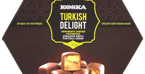 Рахат-лукум с фисташками в молочном шоколаде, Koska, 140 г