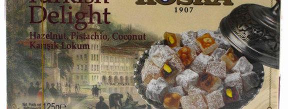Рахат-лукум с фундуком, фисташками и кокосом, Koska, 125 г