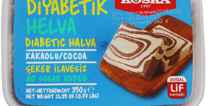 Кунжутная халва с какао без сахара, Koska, 350 г